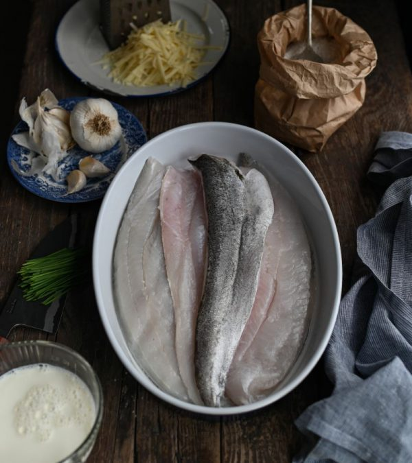 Fresh and Frozen Fish: Hake