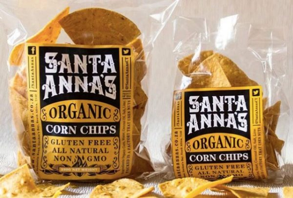 Santa Anna's organic corn products and Mexican condiments