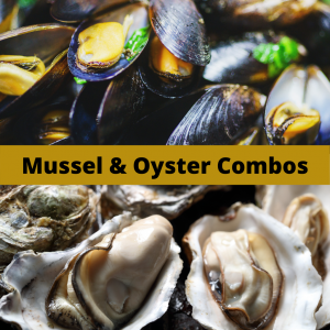 Mussel Monger Oyster & Mussel combos ORDERS CLOSED