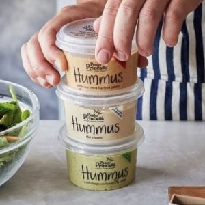 Pesto Princess Hummus